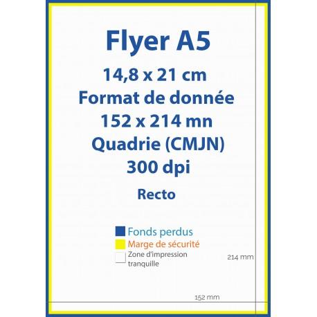 Flyers A5 pas chers Format (14,8cm x 21cm) - IPEO - Vincent COSSET